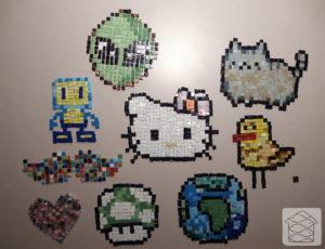 Pixelmosaics, Kalamaja Mosaiigistuudio, pixel-party