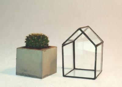 Betoon ja klaas kuubis