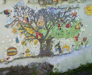 Kogukonnamosaiik Kalamaja lasteaias