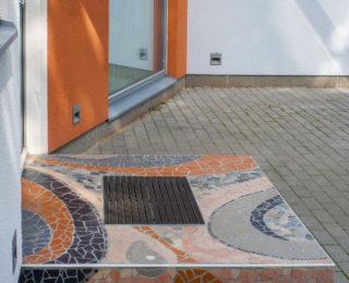 Mosaiik trepiastmele